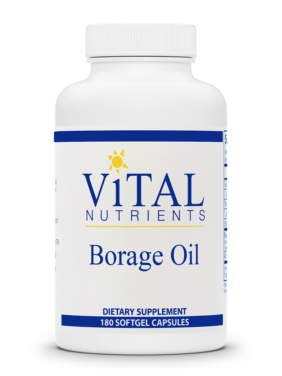 Borage Oil 1000 mg - 180 Softgel Capsules