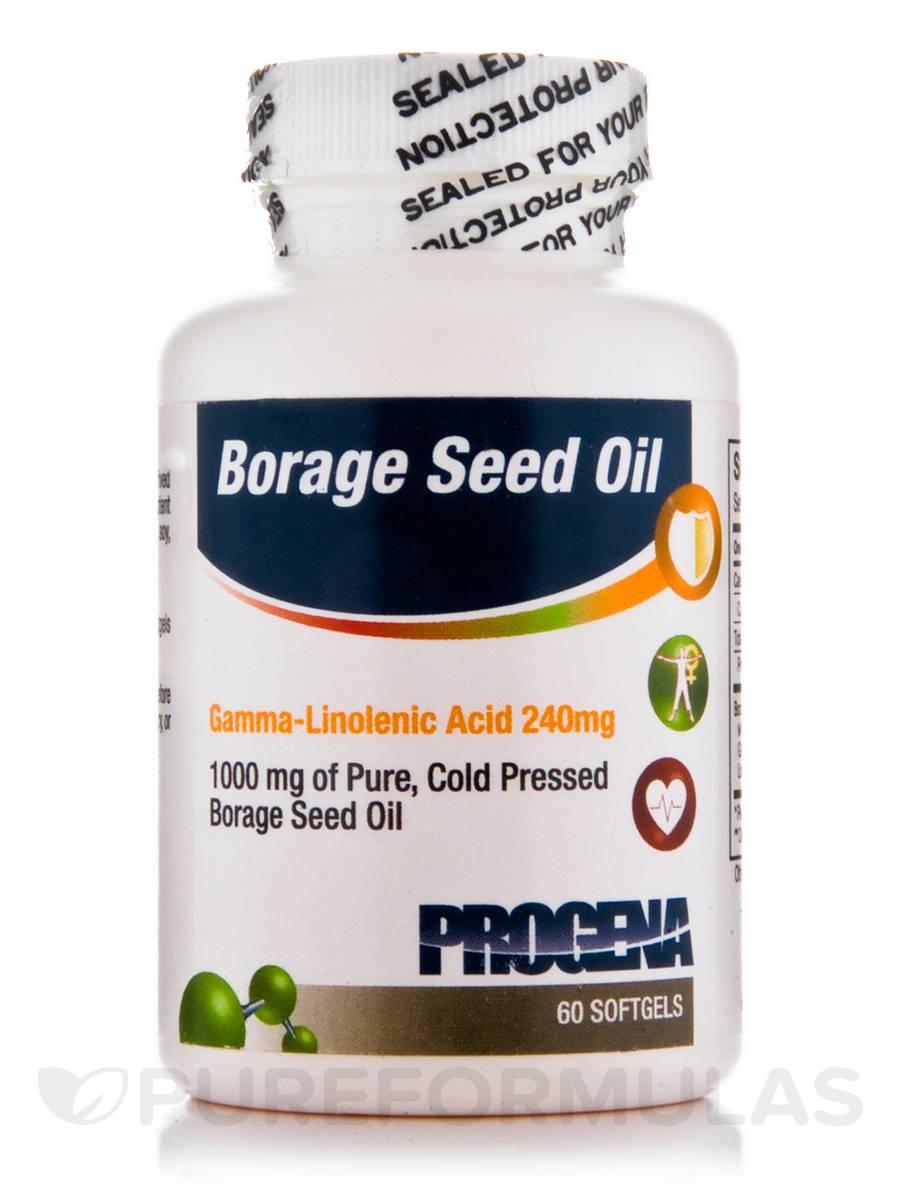 Borage Seed Oil 1000 mg - 60 Softgels