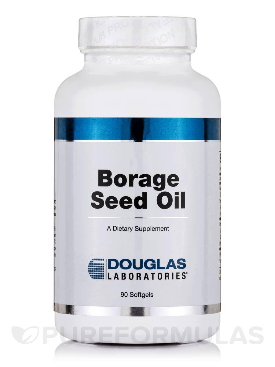 Borage Seed Oil - 90 Softgels