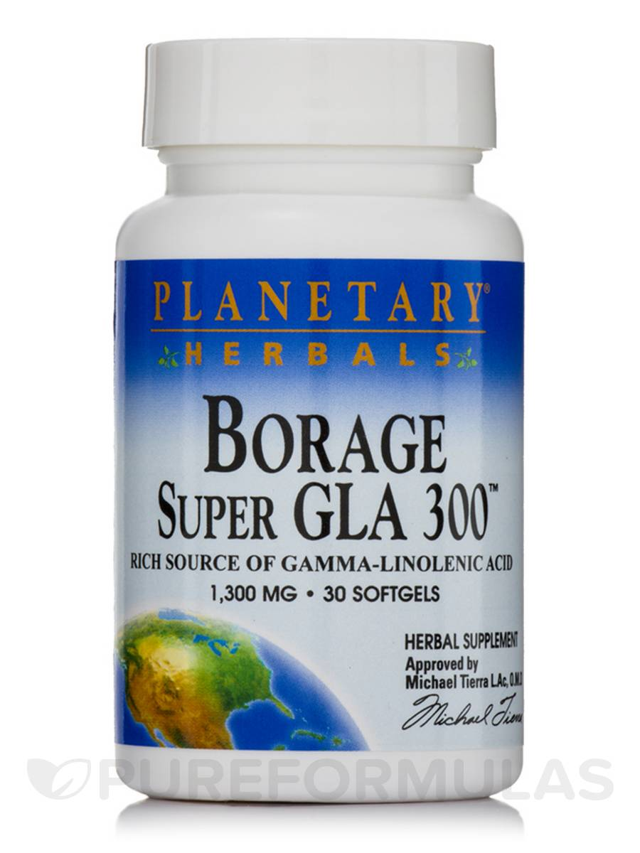 Borage Super GLA 300 1300 mg - 30 Softgels