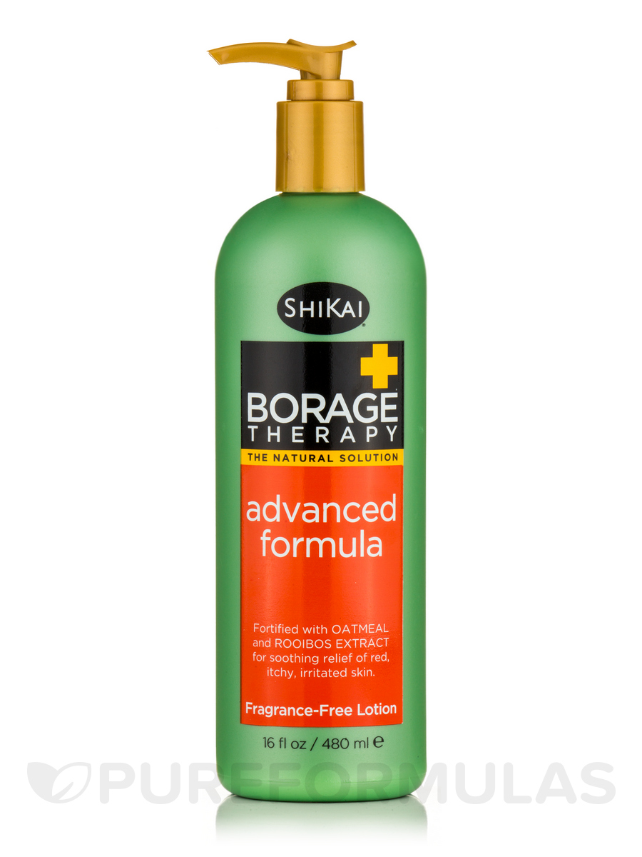 Borage Therapy® Advanced Formula Lotion, Fragrance Free - 16 fl. oz (480 ml)