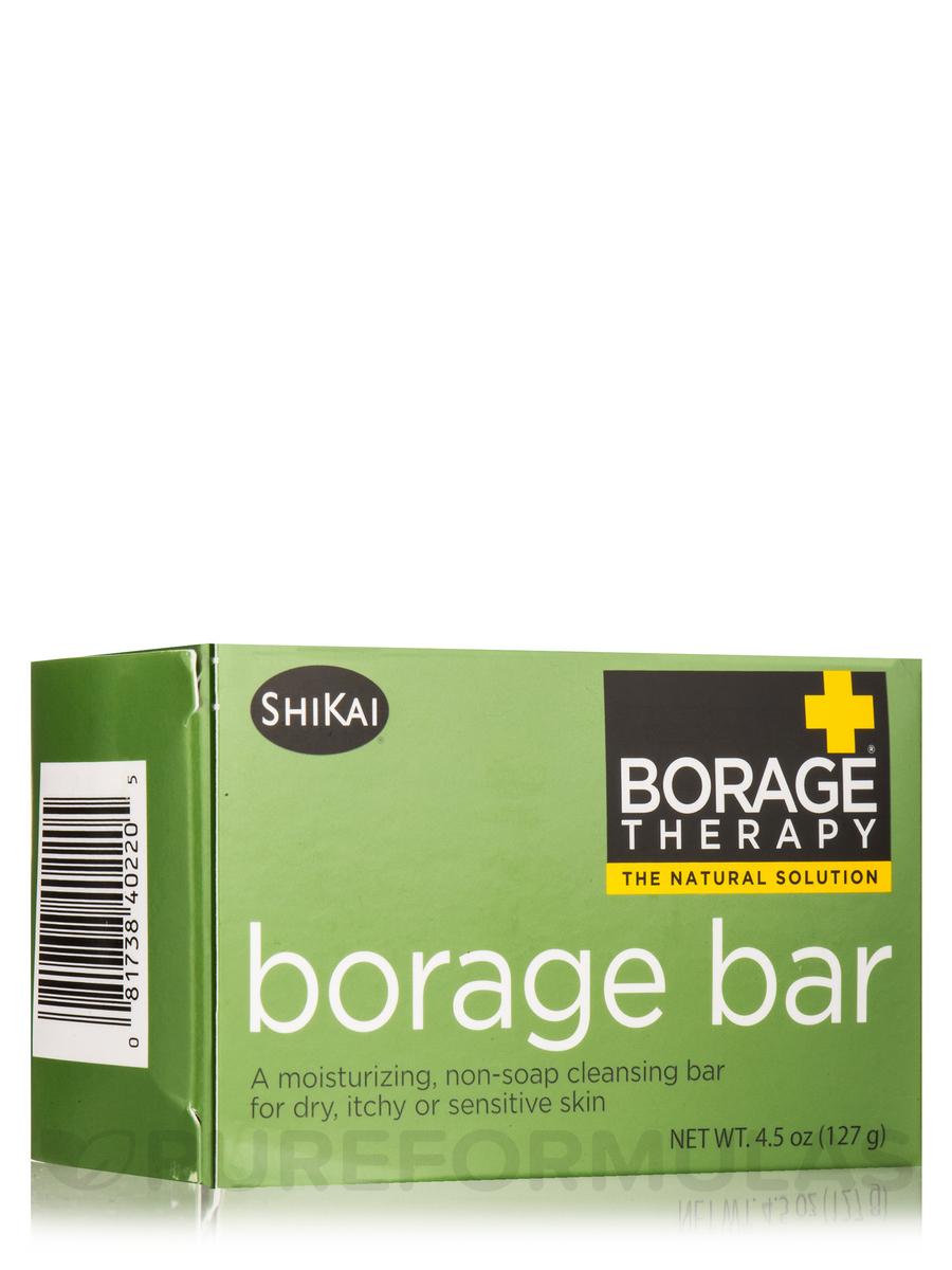 Borage Therapy® Borage Soap Bar - 4.5 oz (127 Grams)