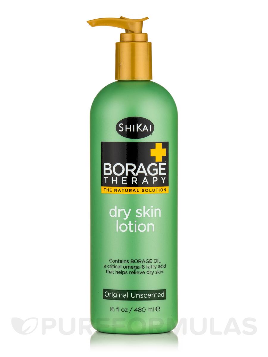 Borage Therapy® Dry Skin Lotion, Original Unscented - 16 fl. oz (480 ml)