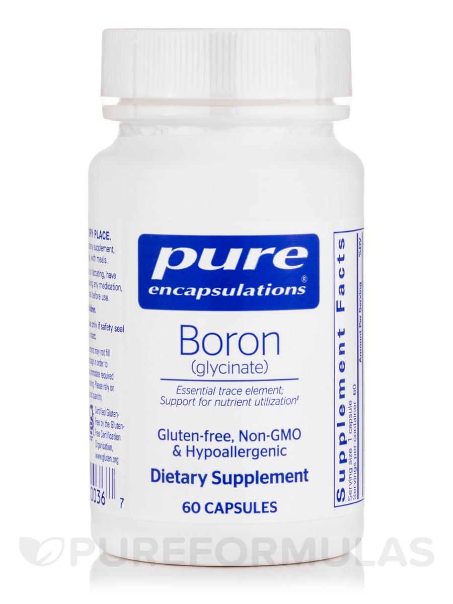 Boron (glycinate) - 60 Capsules