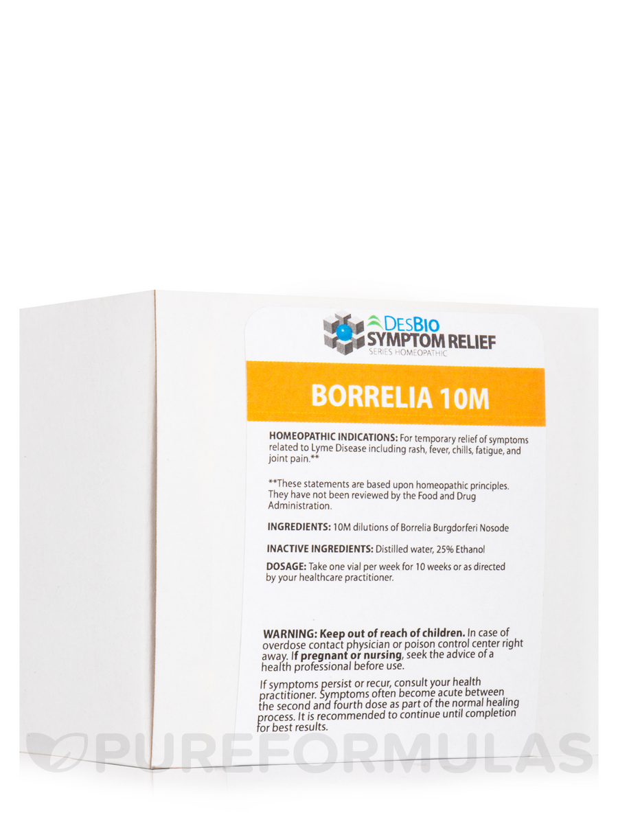 Series Symptom Relief Kit Borrelia 10M - 10 Vials