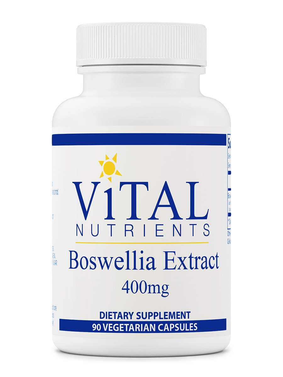 Boswellia Extract 400 mg - 90 Vegetable Capsules