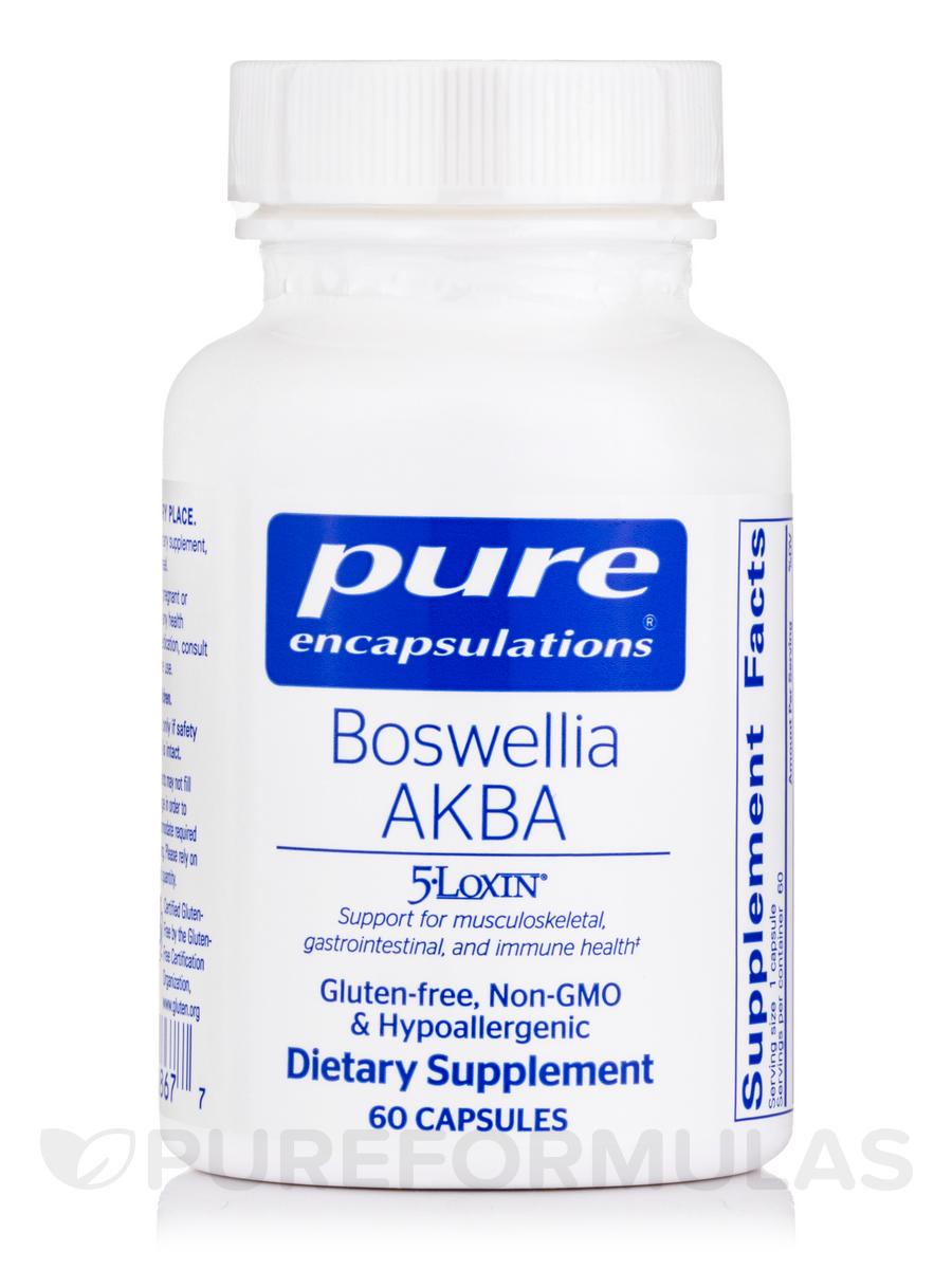 Boswellia AKBA - 60 Capsules