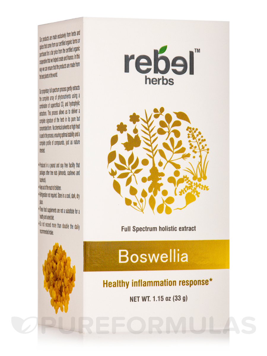 Boswellia - Dual Extracted Powder - 1.5 oz (33 Grams)