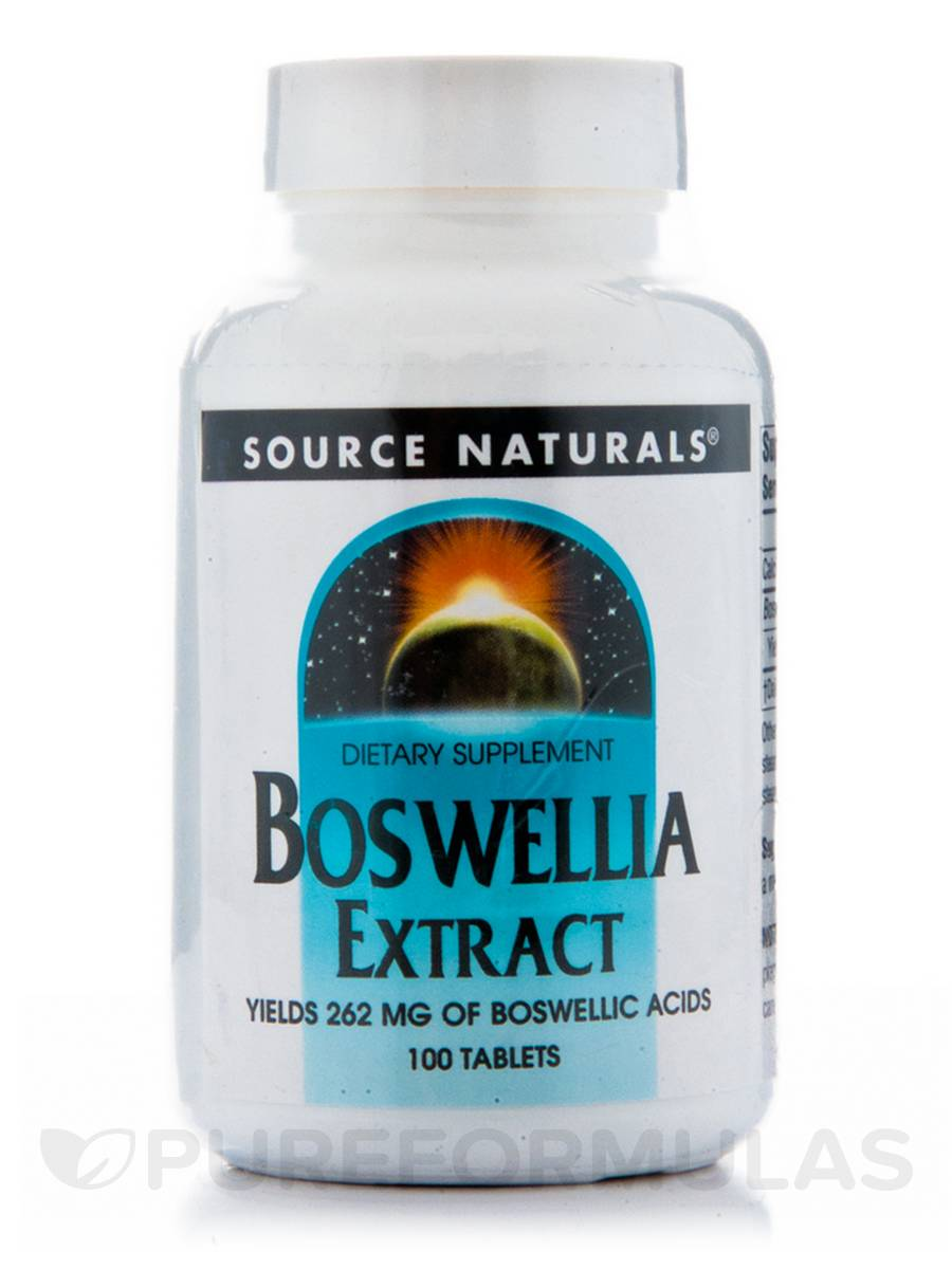 Boswellia Extract - 100 Tablets