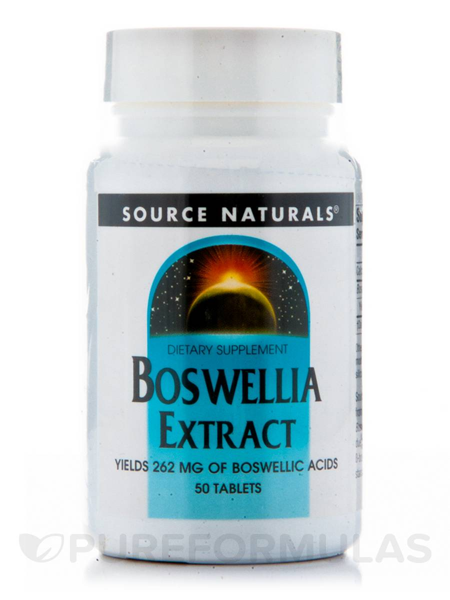 Boswellia Extract - 50 Tablets