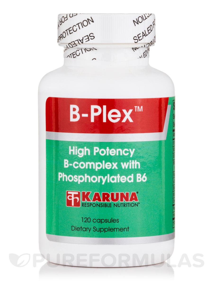 B-Plex with Phosphorylated B6 - 120 Tablets
