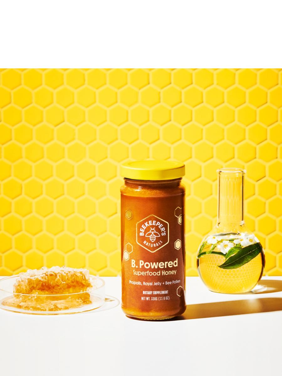 B.Powered Superfood Honey - 11.6 oz (330 Grams)
