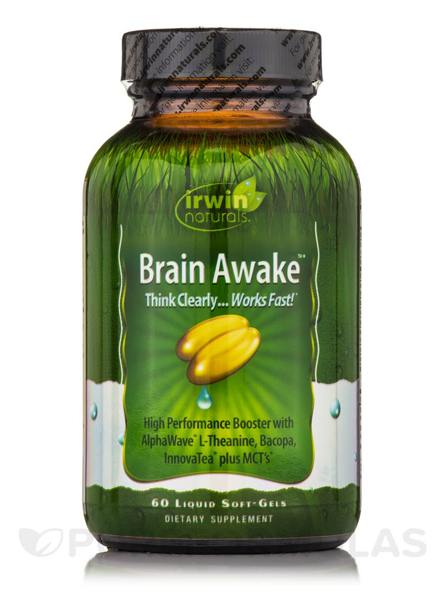 Brain Awake - 60 Liquid Soft-Gels