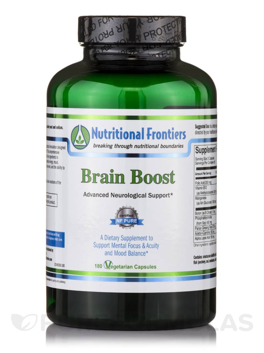 Vitamins and herbs for brain function