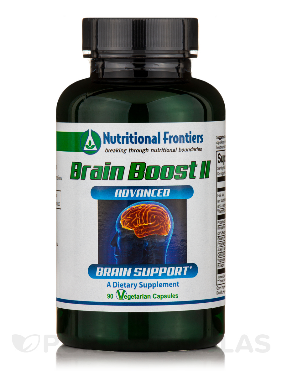 Brain Boost II - 90 Vegetarian Capsules