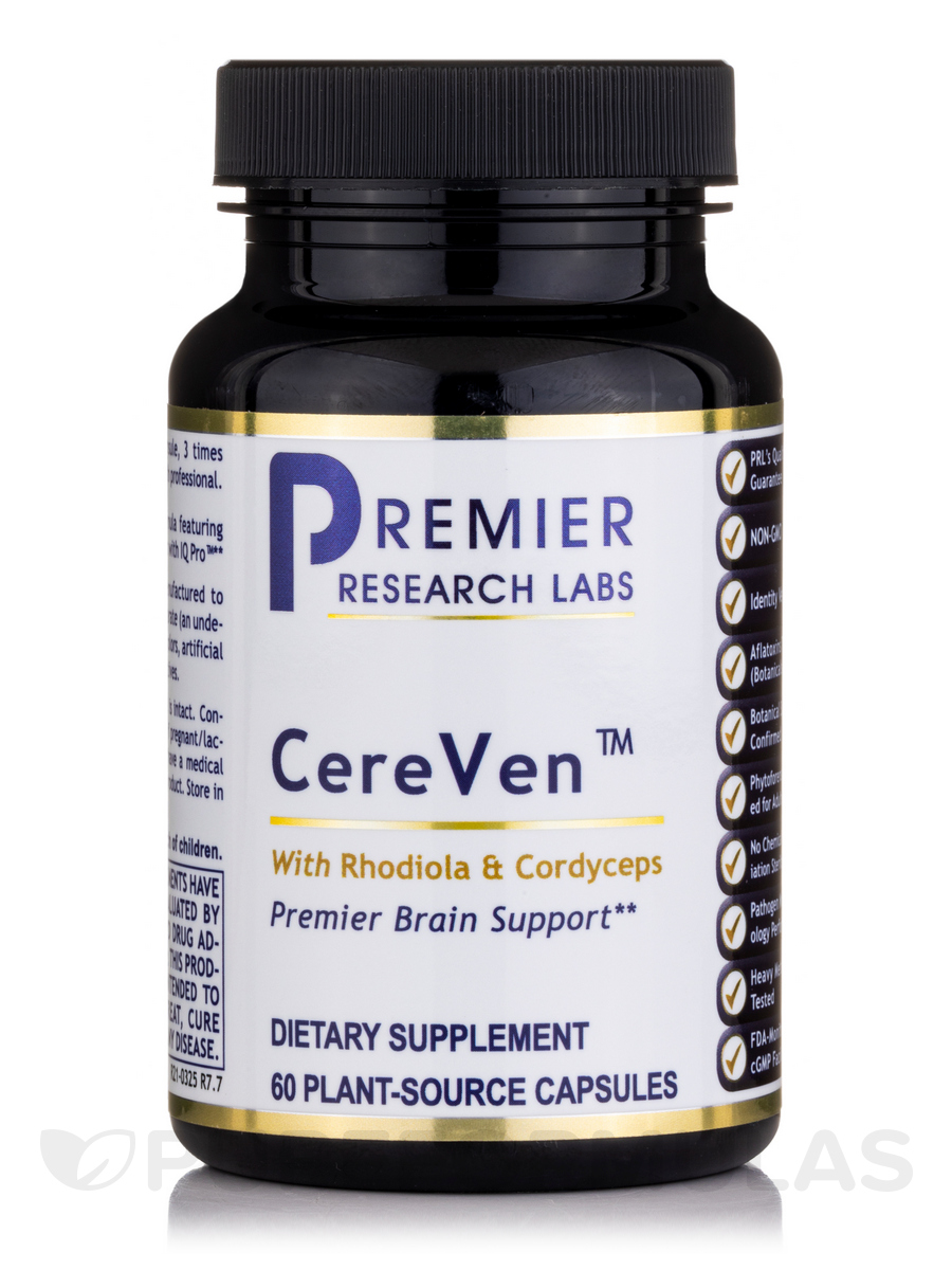 CereVen (formerly Brain Complex) - 60 Vegetable Capsules