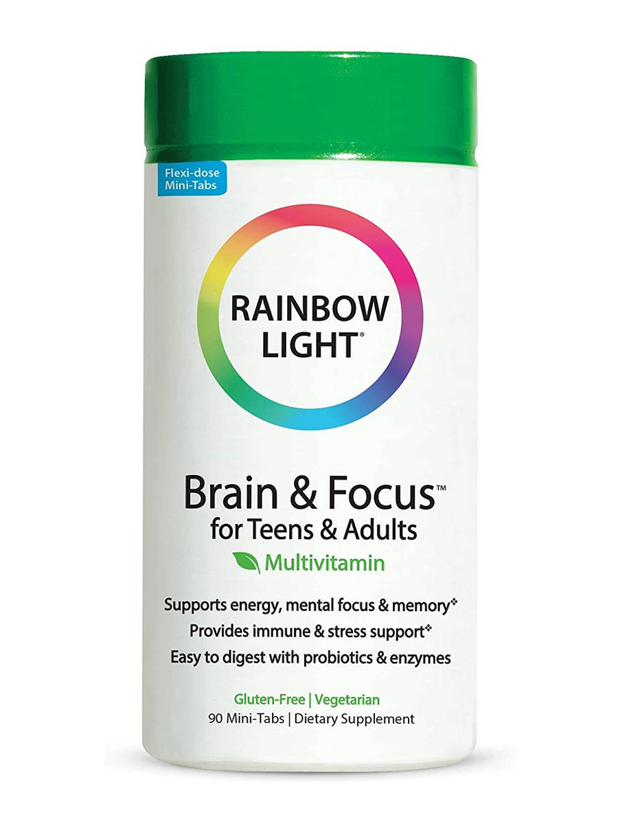 Brain & Focus™ for Teens & Adults Multivitamin - 90 Mini-Tabs