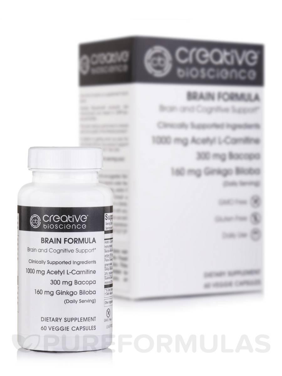 Brain Formula - 60 Veggie Capsules