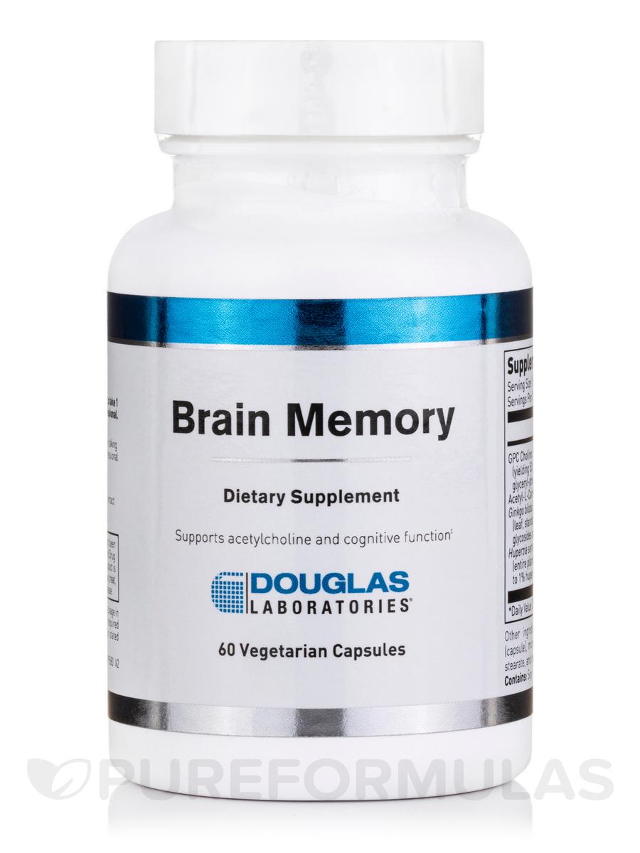 Brain Memory - 60 Vegetarian Capsules