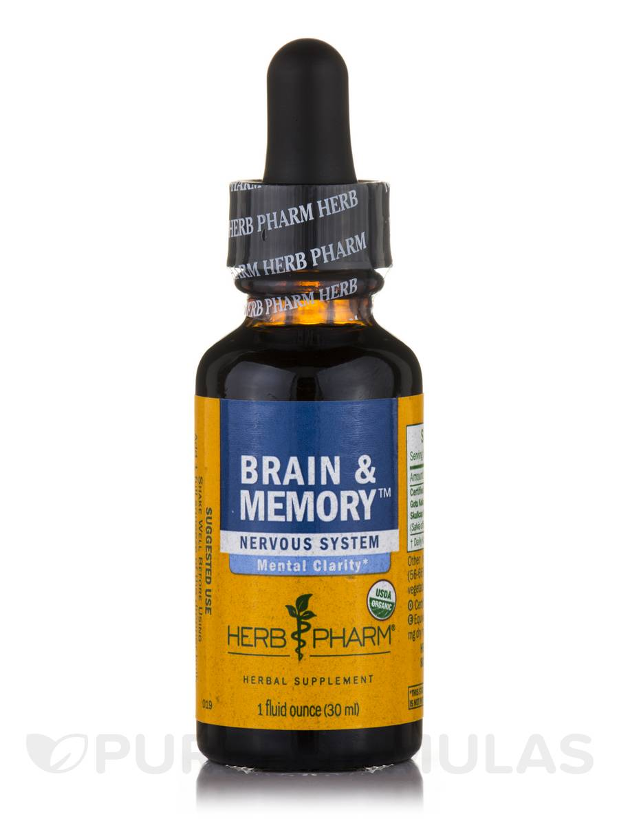 Brain & Memory Tonic Compound - 1 fl. oz (30 ml)
