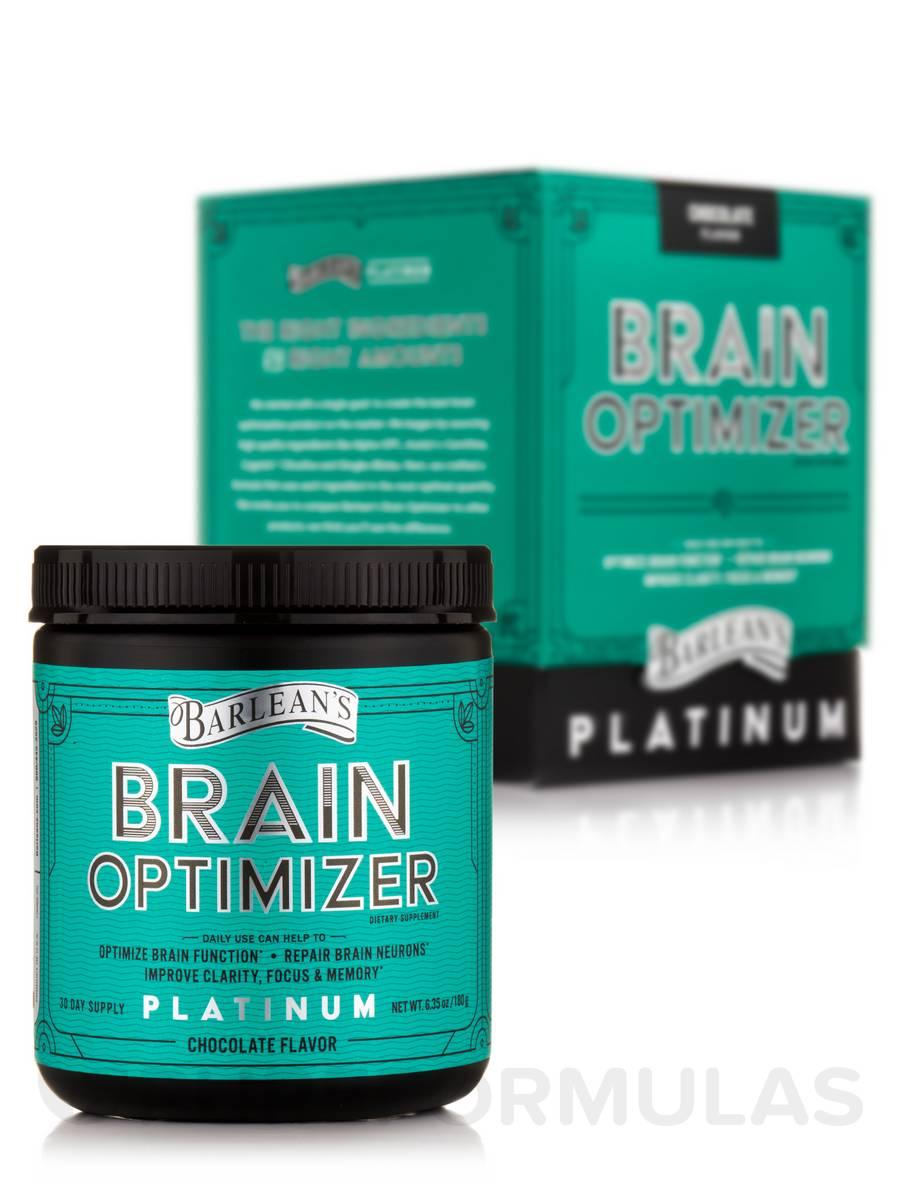 Brain Optimizer, Chocolate Flavor - 6.35 oz (180 Grams)