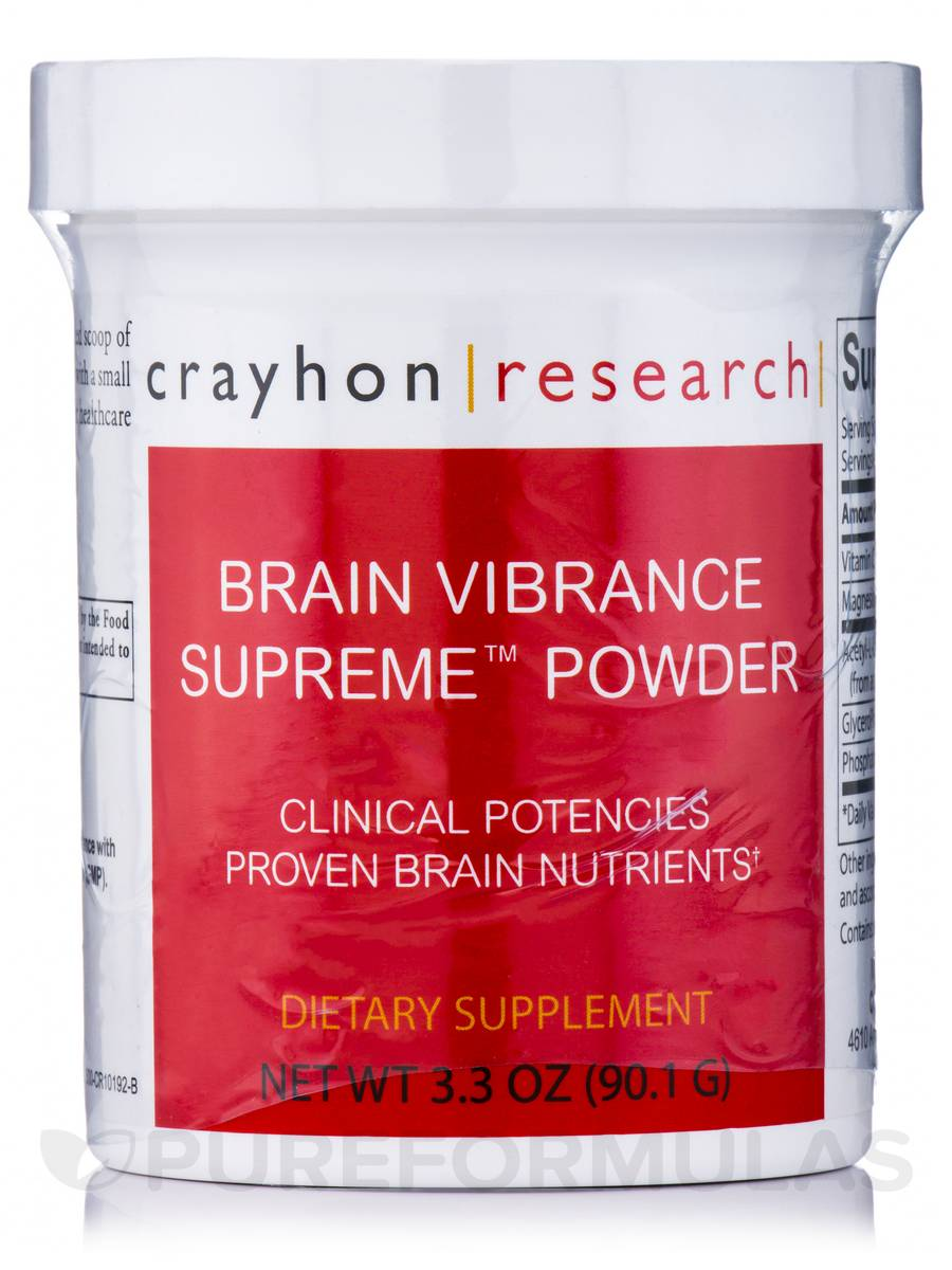 Brain Vibrance Supreme Powder - 3.3 oz (90.1 Grams)