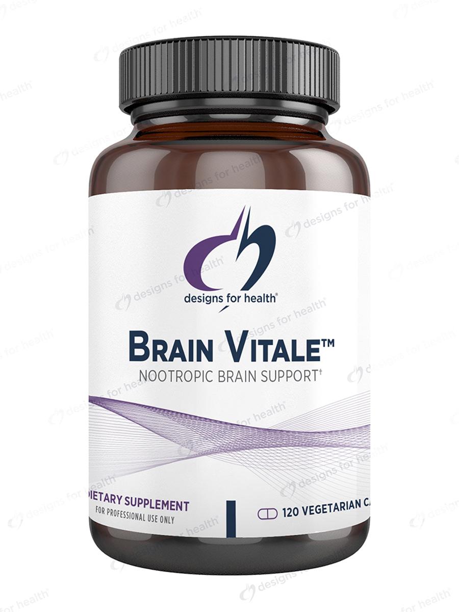 Brain Vitale™ - 120 Vegetarian Capsules