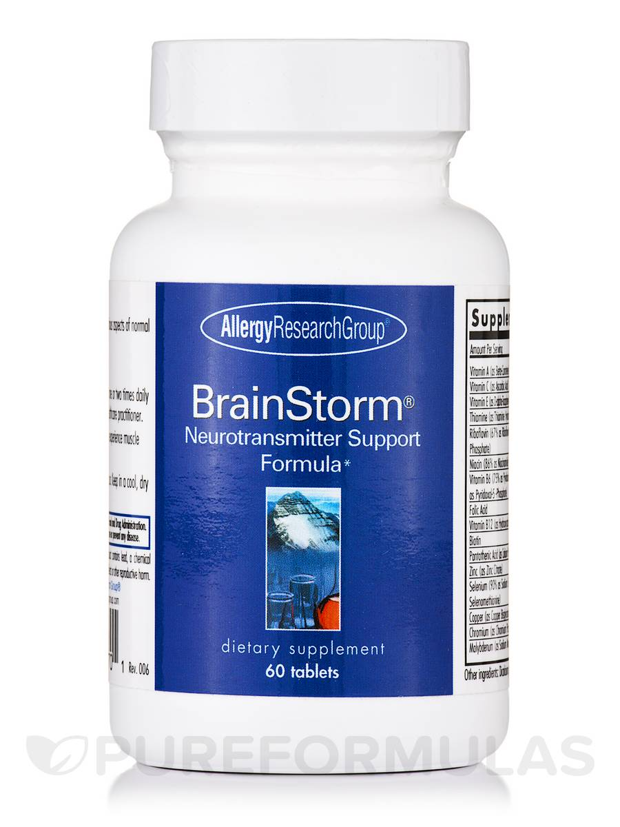BrainStorm® Neurotransmitter Support Formula - 60 Tablets