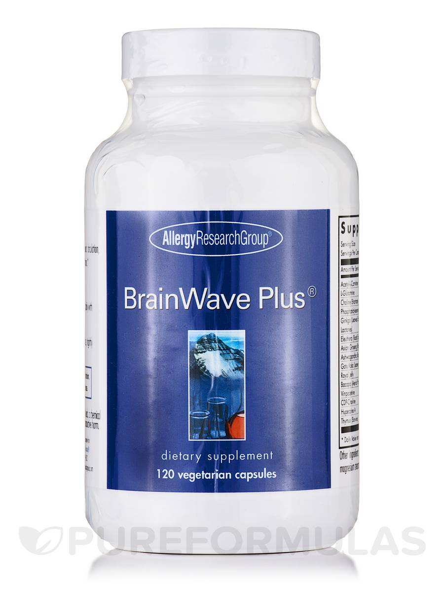 Brainwave Plus® - 120 Vegetarian Capsules