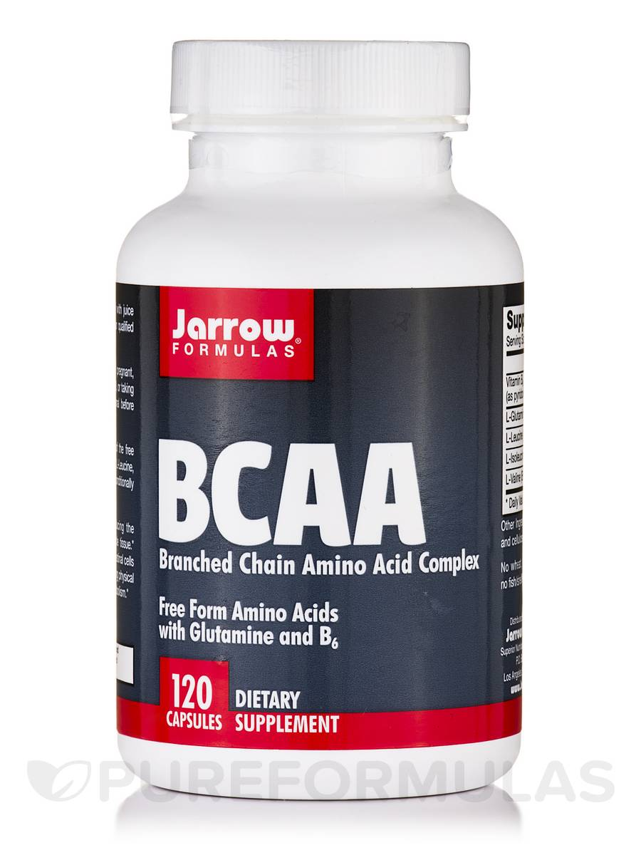 Branched Chain Amino Acid Complex - 120 Capsules