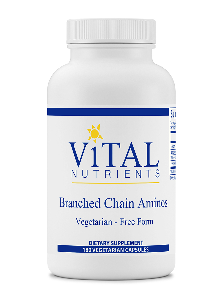 Branched Chain Aminos - 180 Vegetarian Capsules