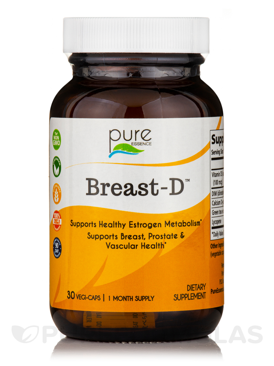 Breast-D - 30 Vegetarian Capsules