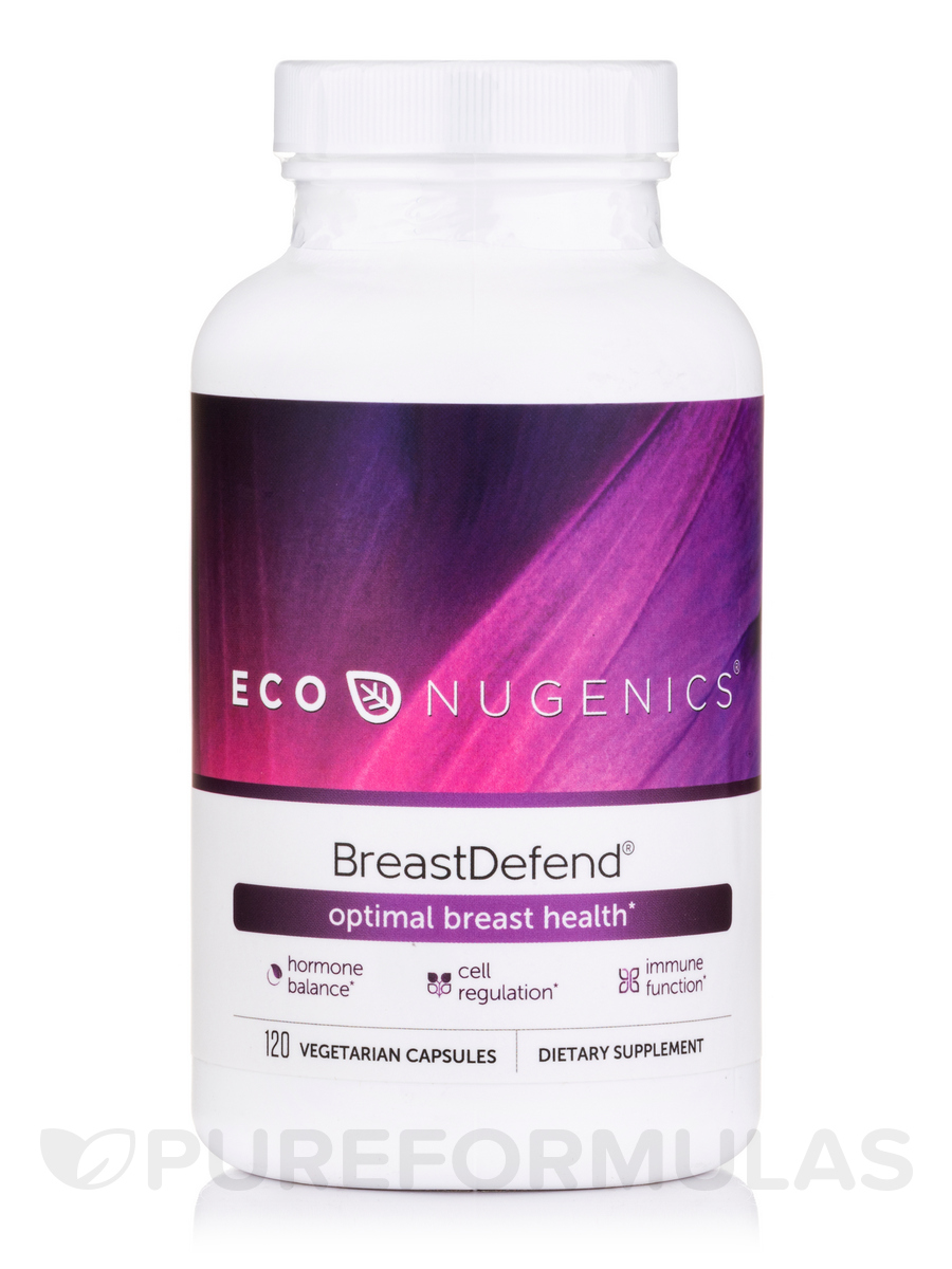 BreastDefend - 120 Vegetable Capsules