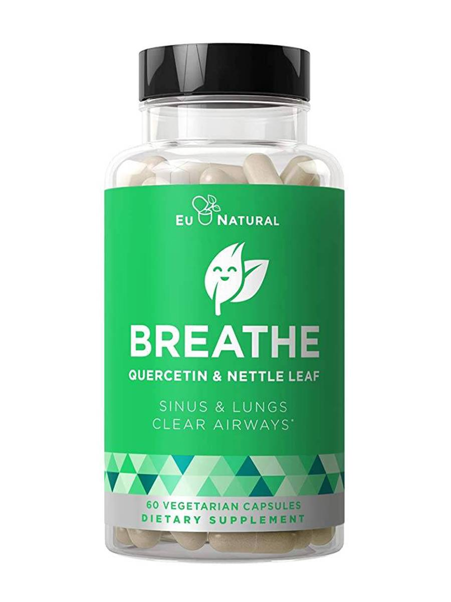 Breathe - Sinus & Lungs Respiratory Health - 60 Vegetarian Capsules