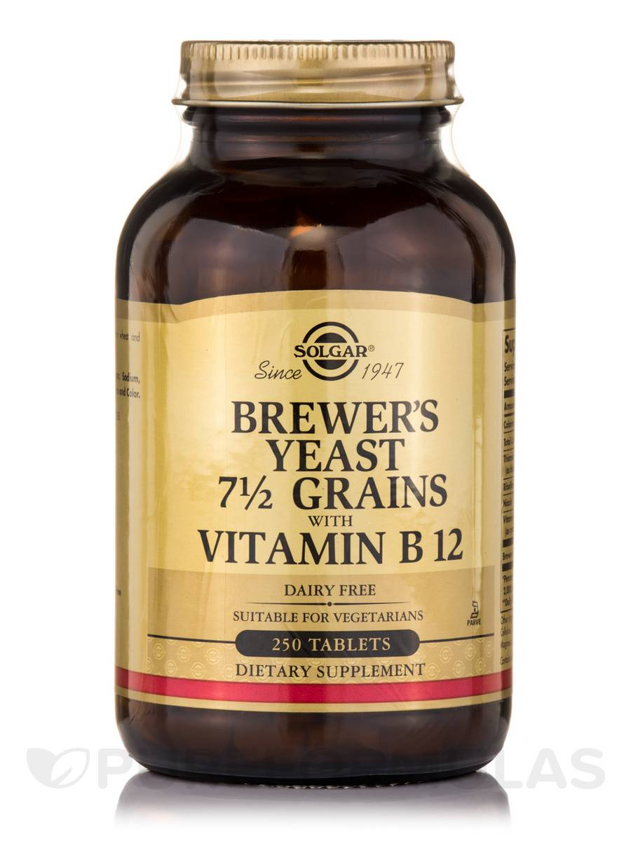 Brewer S Yeast 7 5 Grains With Vitamin B12 250 Tablets