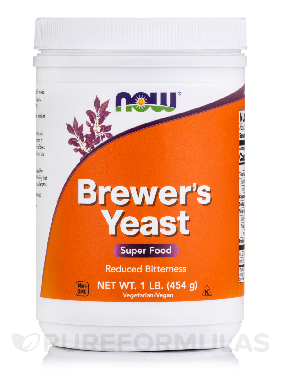 Brewer's Yeast Debittered - 1 lb (454 Grams)