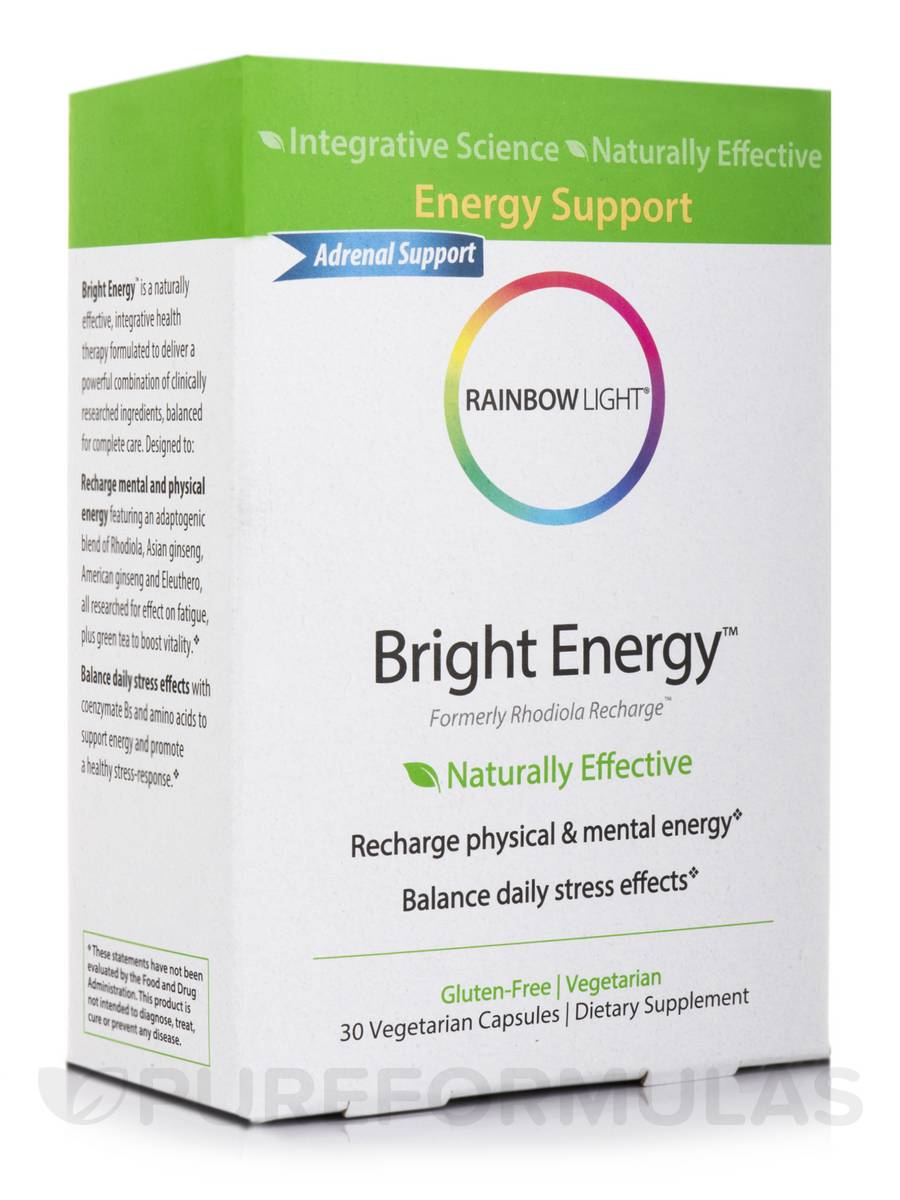 Bright Energy™ - 30 Vegetarian Capsules