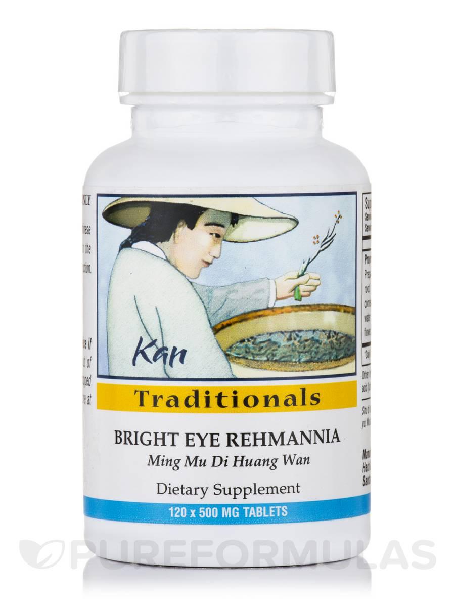 Bright Eye Rehmannia - 120 Tablets