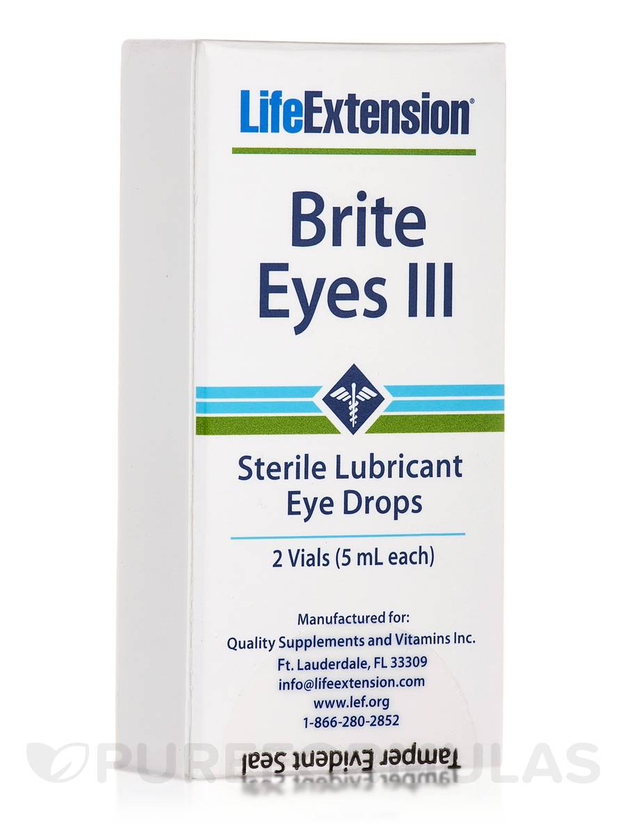 Brite Eyes III - 2 Vials of 5 ml each