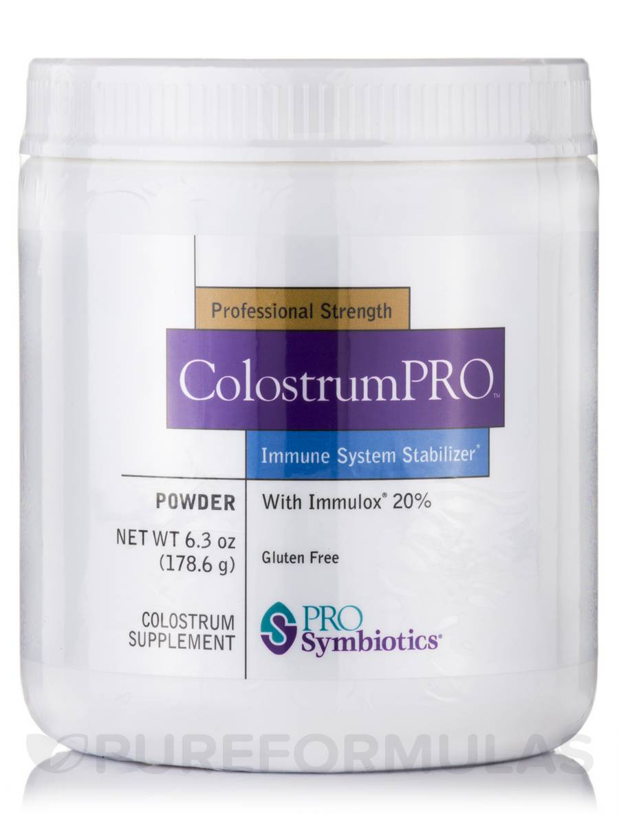 ColostrumPRO™ with Immulox® 20% - 6.3 oz (178.6 Grams)