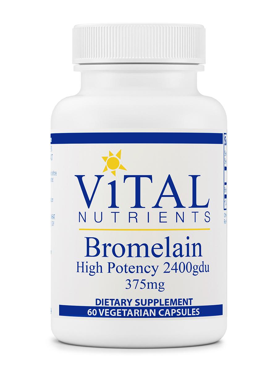 Bromelain 2400 gdu 375 mg - 60 Capsules