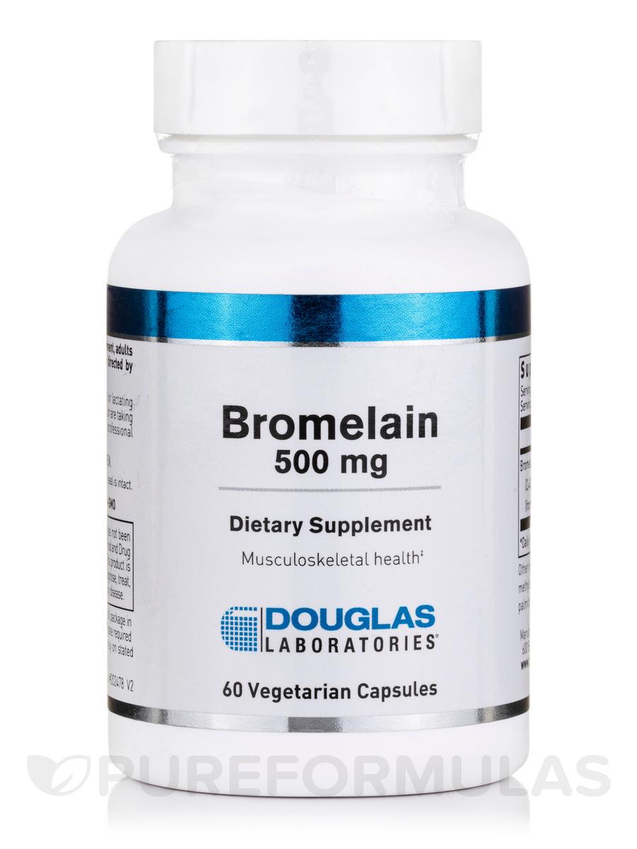 Bromelain 500 mg - 60 Vegetarian Capsules