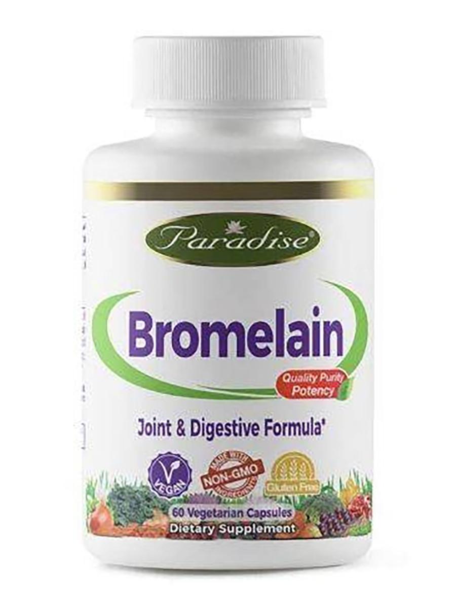 Bromelain - 60 Vegetarian Capsules