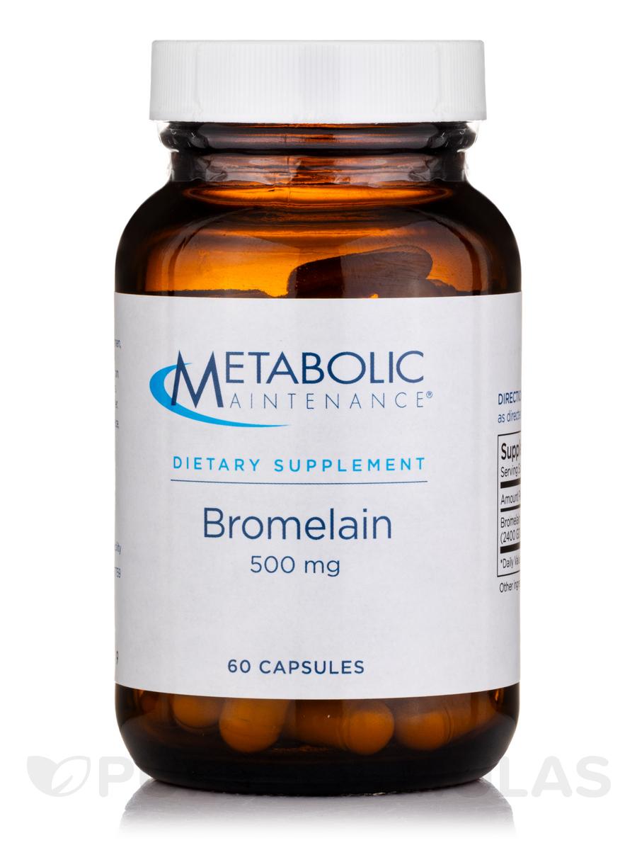 Bromelain 750 mg - 60 Capsules
