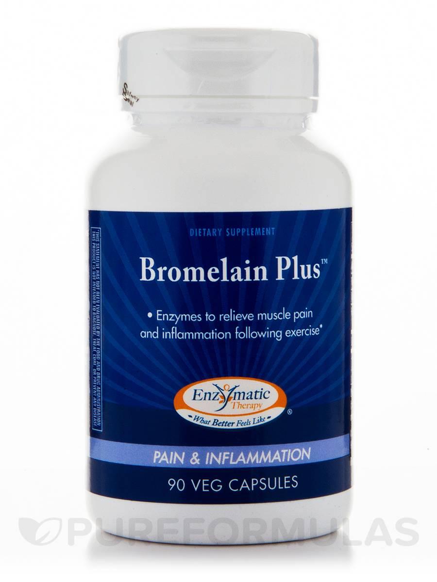 Bromelain Plus - 90 Vegetarian Capsules