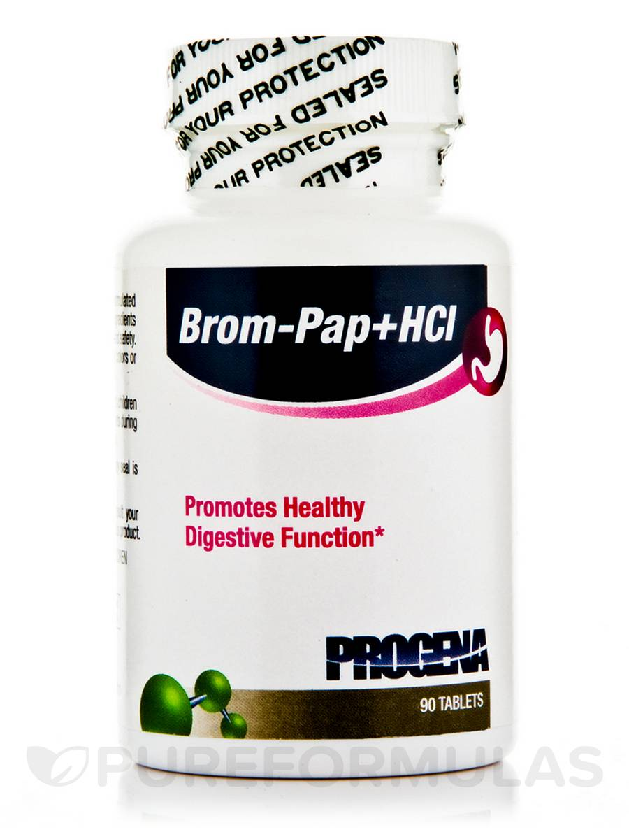 Brom-Pap+HCL - 90 Tablets