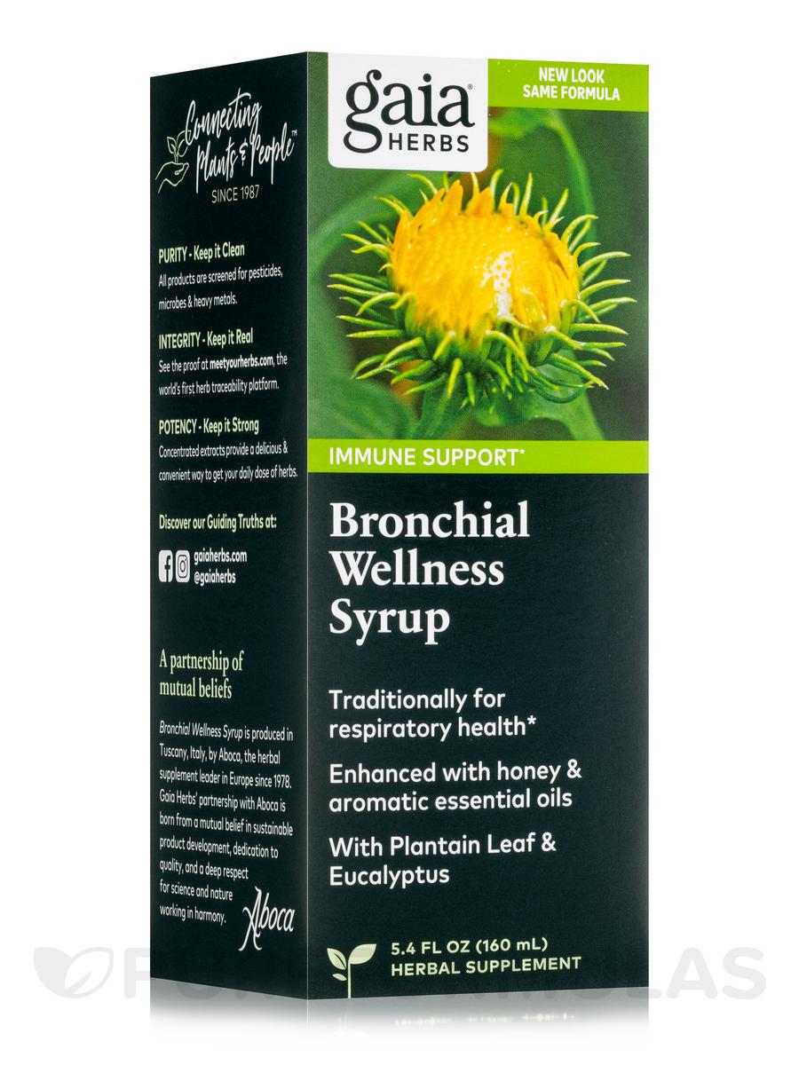 Bronchial Wellness Herbal Syrup - 5.4 fl. oz (160 ml)