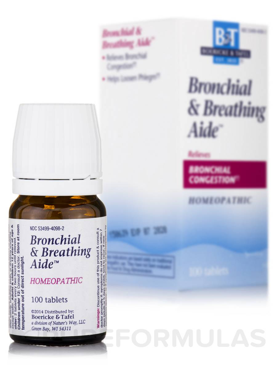 Bronchitis & Breathing Aide™ - 100 Tablets