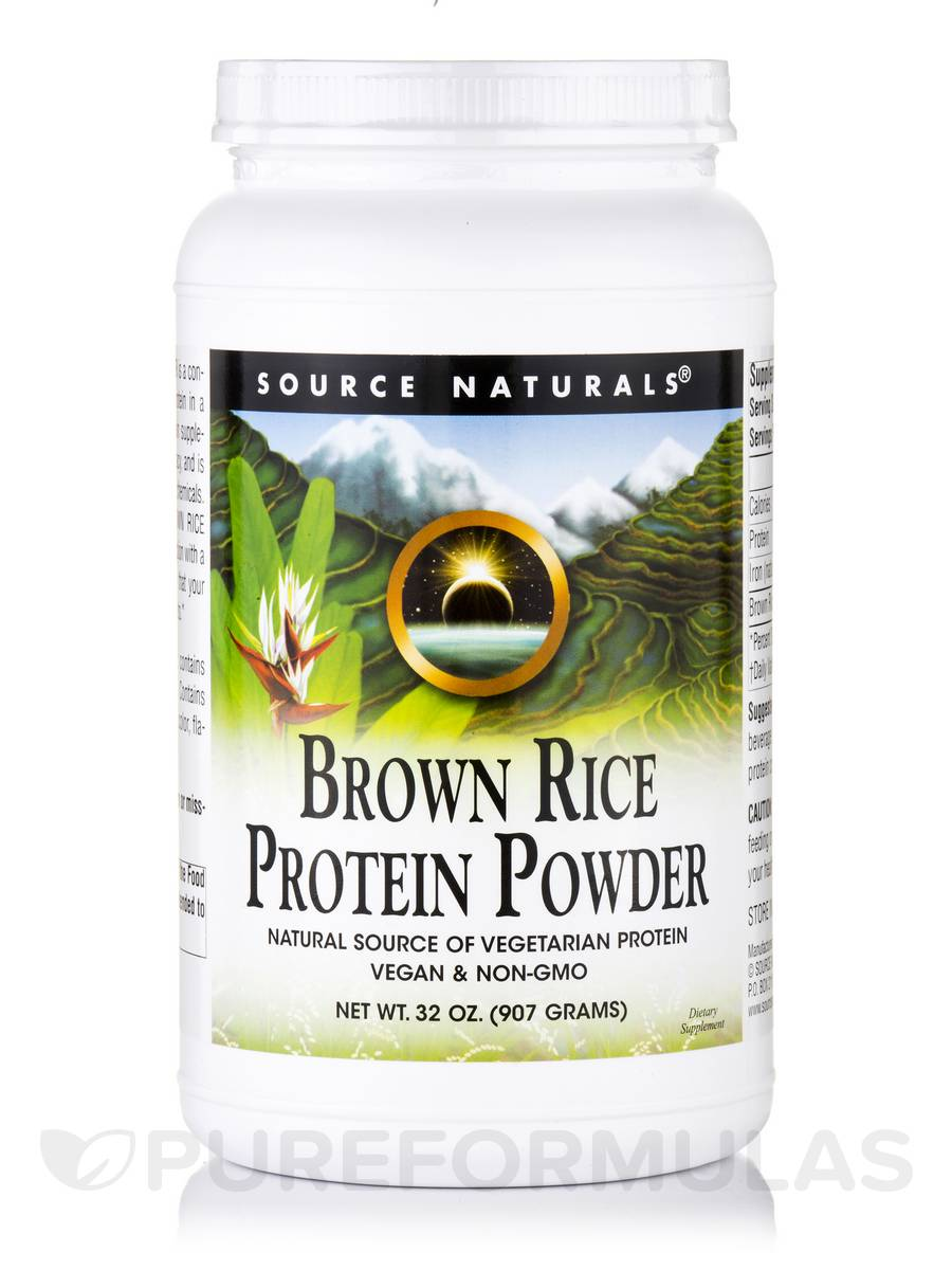 Brown Rice Protein Powder - 32 oz (907 Grams)