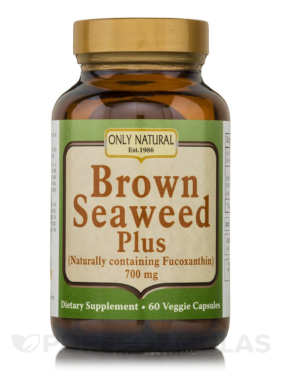 Brown Seaweed Plus 700 mg - 60 Veggie Capsules